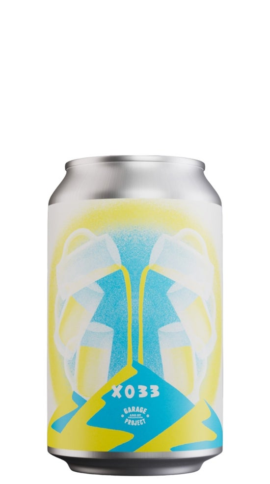 Garage Project XO33 Experimental Lager 330ml can