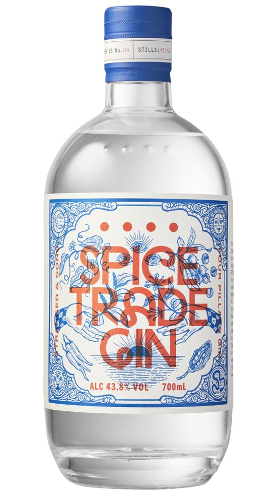 Four Pillar X Stranger & Sons Spice Trade Gin 700ml bottle