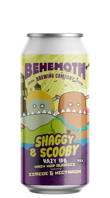 Behemoth Hop Buddies Shaggy & Scooby Hazy IPA 440ml can