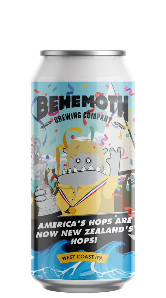 Behemoth America's Hops are now New Zealand's hops WCIPA 440ml can