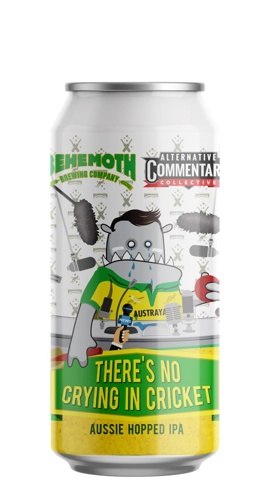 Behemoth There's No Crying in Cricket Aussie Hopped IPA 440ml can