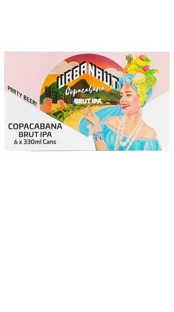 2021 Urbanaut Copacabana Brut IPA 6-pack 330ml cans