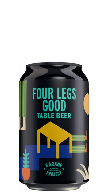 Garage Project Four Legs Good Table Beer 330ml can
