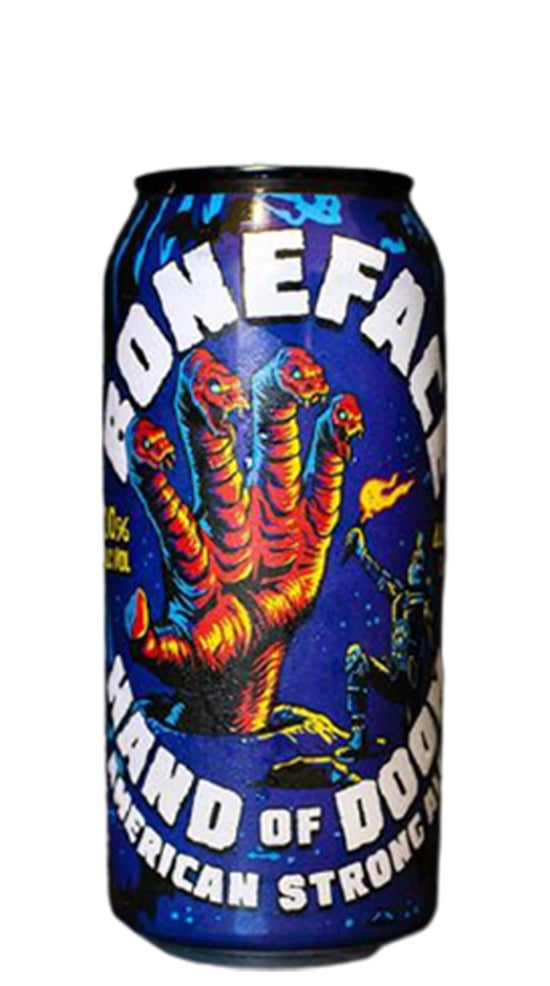 Boneface Hand of Doom Strong Ale 440ml can