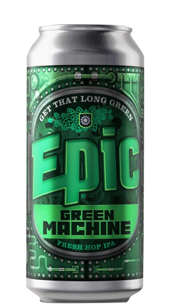 Epic Green Machine Fresh Hop IPA 440ml can