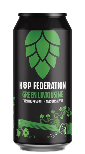 Hop Federation Green Limousine Fresh Hop IPA 440ml can
