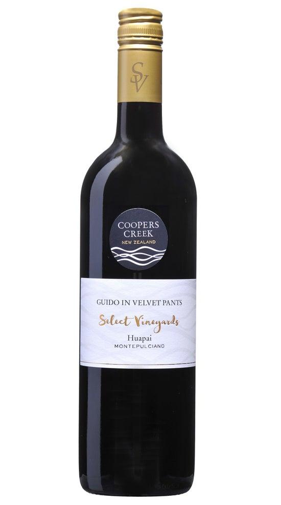 Coopers Creek Select Vineyard Montepulciano 'Guido in Velvet Pants'