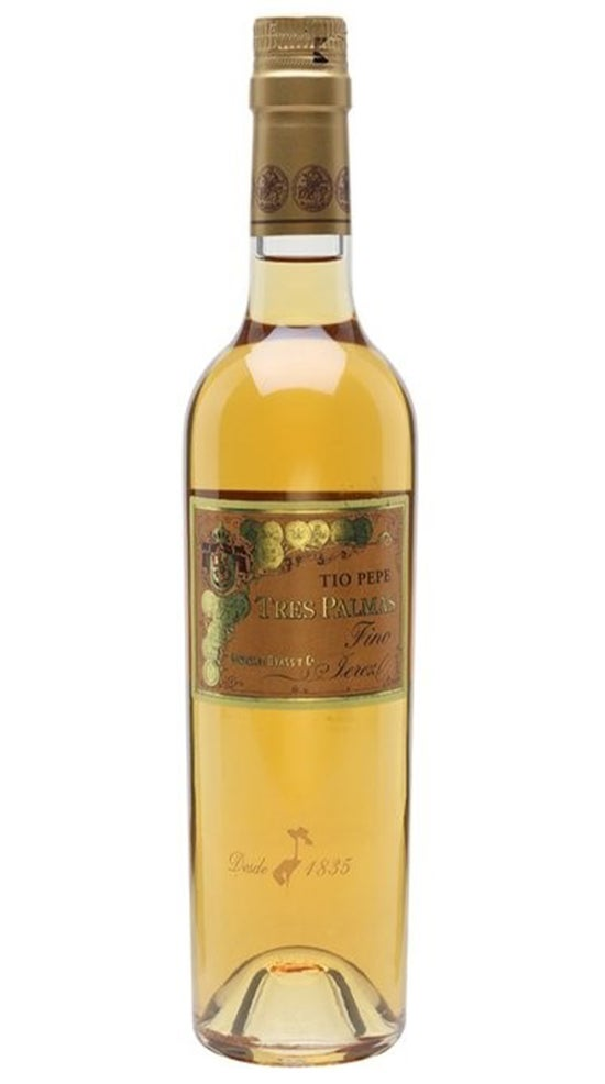 Gonzales Byass Tio Pepe Tres Palma 2020 Release