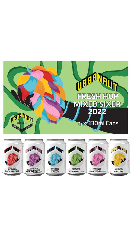 Urbanaut Fresh Hop Mixed 6-pack 330ml cans