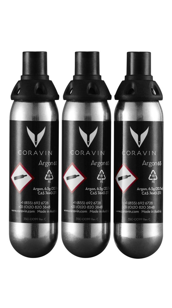 Coravin Gas Capsules - 3 pack