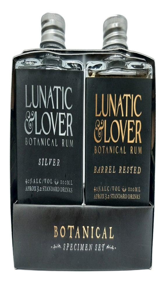 Lunatic & Lover Botanical Rum Specimen Set 2 x 100ml