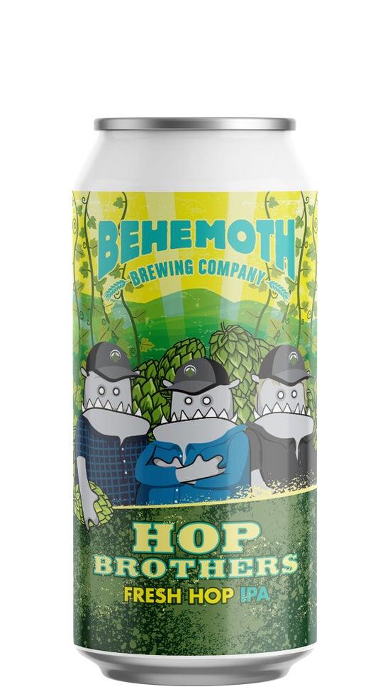 Behemoth Hop Brothers Fresh Hop IPA 440ml can