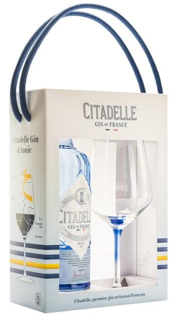 Citadelle Gin 700ml Bottle & Glass Pack