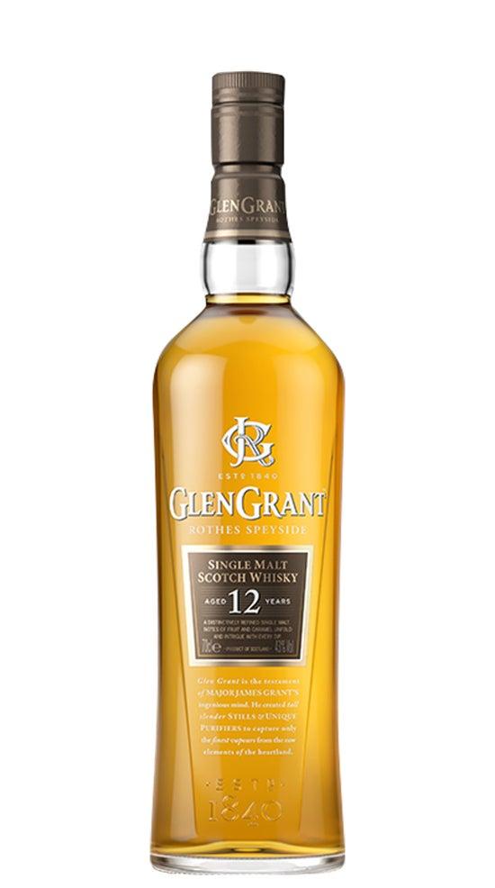Glen Grant 12 Year Old Single Malt Whisky 700ml