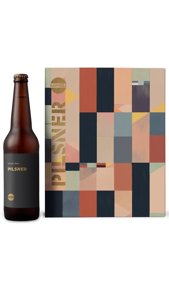 Sawmill Pilsner 6 pack 330ml cans