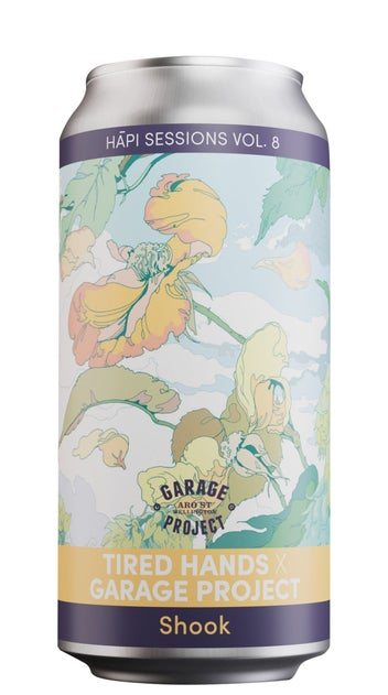Garage Project Hāpi Sessions Vol. 8 Tired Hands 440ml can