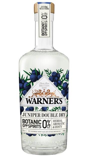 Warner's 0% Juniper Double Dry Gin 700ml