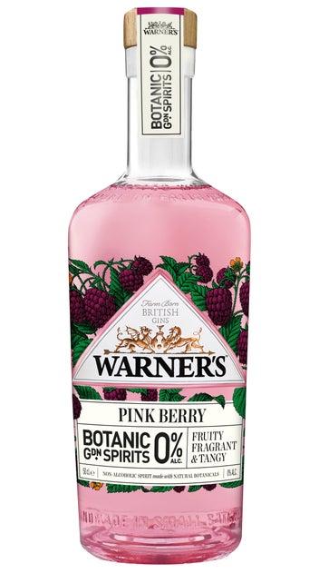Warner's 0% Pink Berry Gin