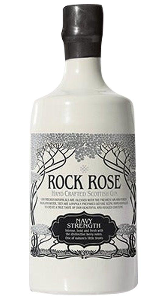 Rock Rose Navy Strength Gin 57% 700ml bottle