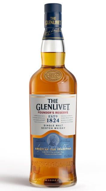 The Glenlivet Single Malt Whisky Scotland Founder's Reserve