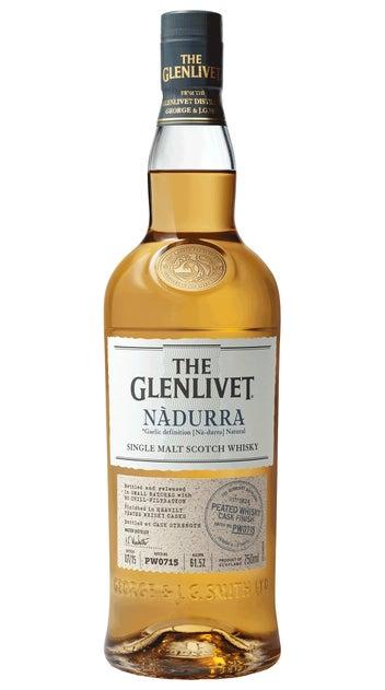 The Glenlivet Single Malt Whisky Nadurra Peated Cask Finish