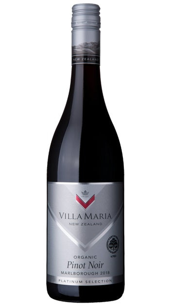 2018 Villa Maria Platinum Selection Marlborough Organic Pinot Noir