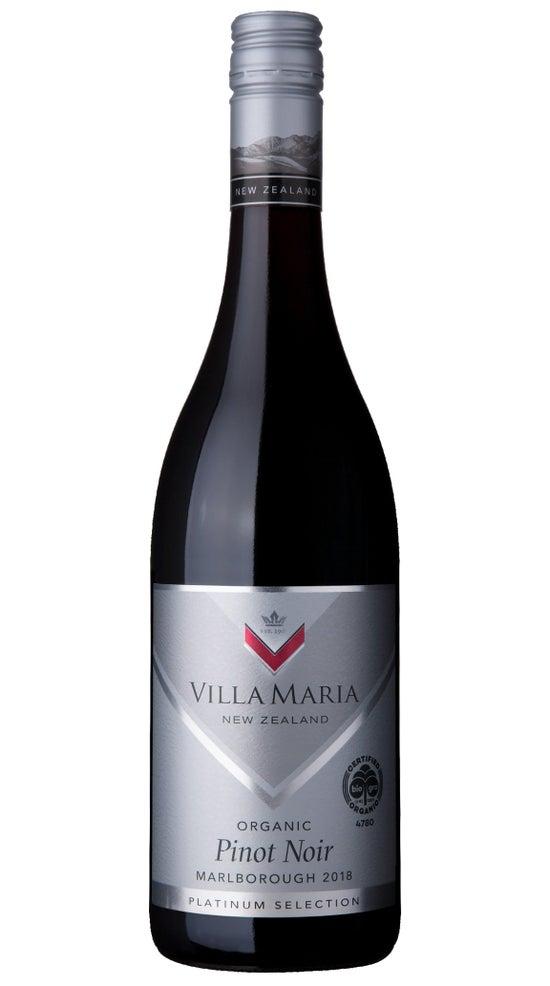 Villa Maria Platinum Selection Marlborough Organic Pinot Noir
