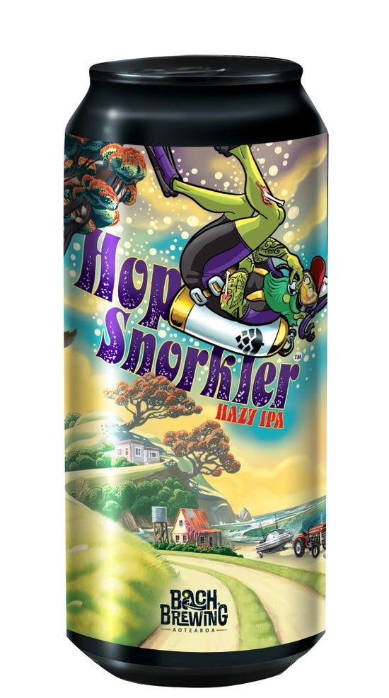 Bach Brewing Hop Snorkler Hazy IPA 440ml can
