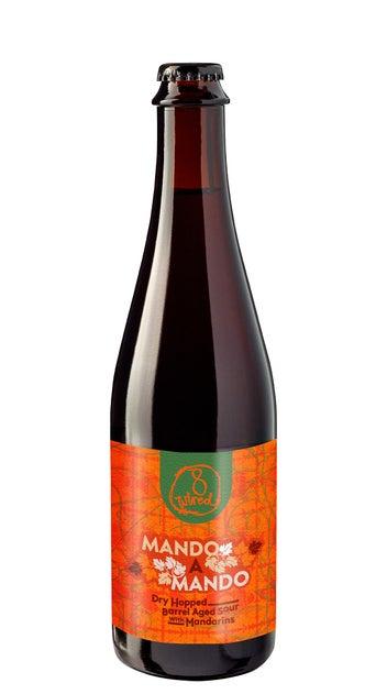 8 Wired Mando a Mando Barrel Aged Mandarin Sour 500ml bottle