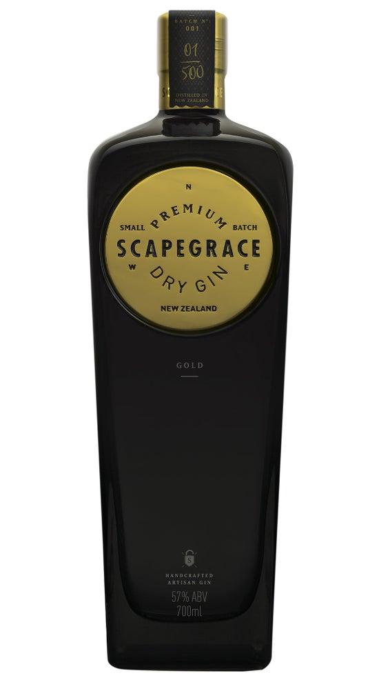 Scapegrace Gold Navy Strength  Gin 57% 700ml bottle