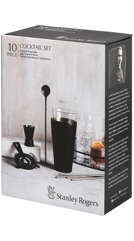 Stanley Rodgers 10 Piece Cocktail Set