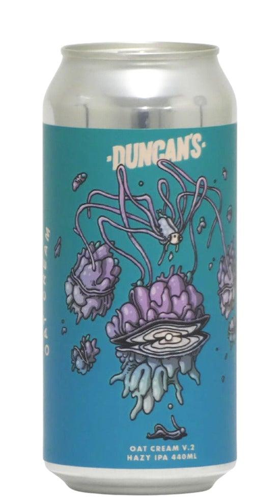 Duncans V2 Oatcream Hazy IPA 440ml can