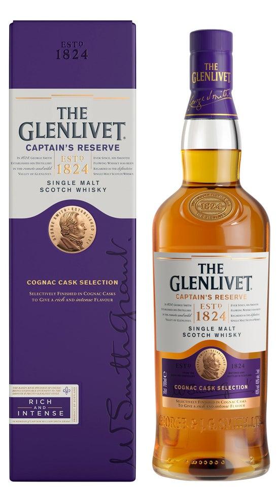 The Glenlivet Captains Reserve 1 litre