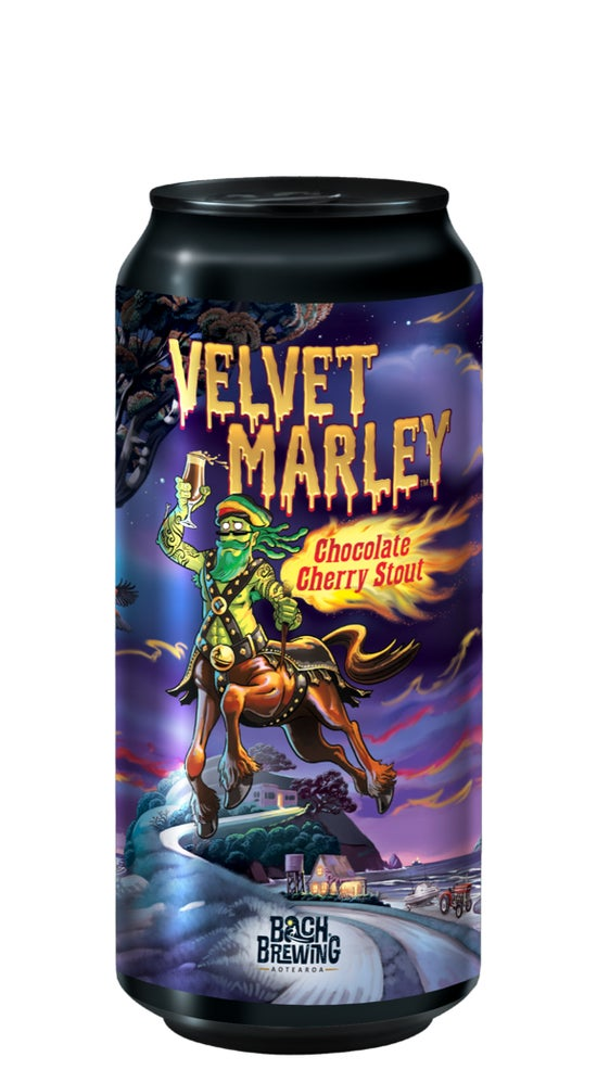 Bach Brewing Velvet Marley Chocolate Cherry Stout 440ml can