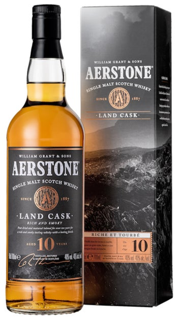 Aerstone Land Cask 10yr Single Malt Scotch Whisky 700ml bottle