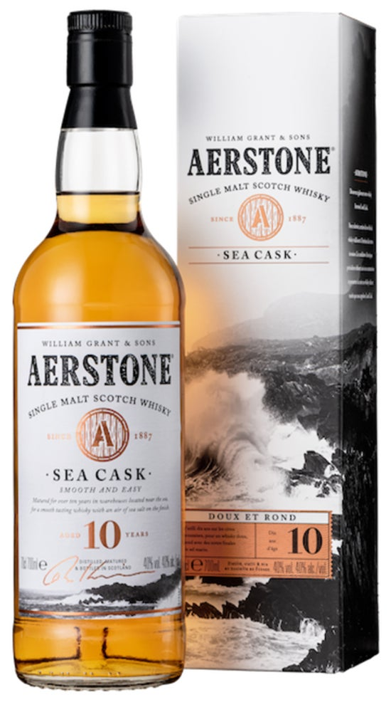 Aerstone Sea Cask 10yr Single Malt Scotch Whisky