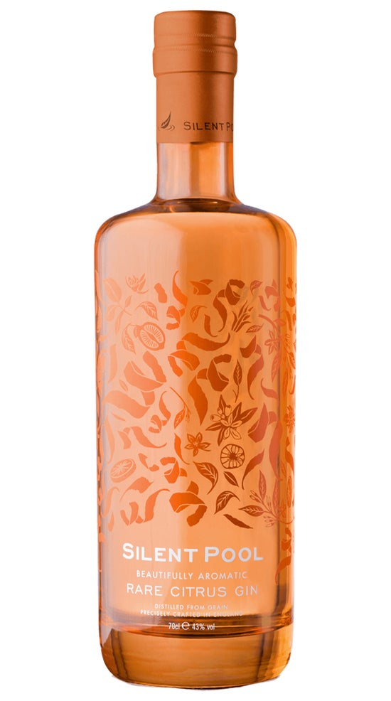 Silent Pool Rare Citrus Gin 700ml bottle