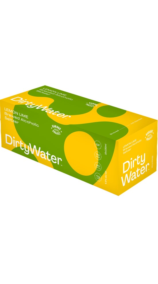 Garage Project Dirty Water Lemon and Lime 10x 330ml can pack