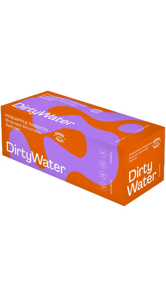 Garage Project Dirty Water Pineapple and Passionfruit 10x 330ml can