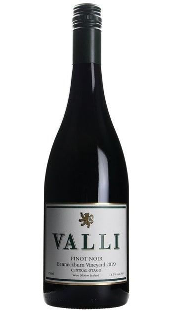 2019 Valli Bannockburn Pinot Noir