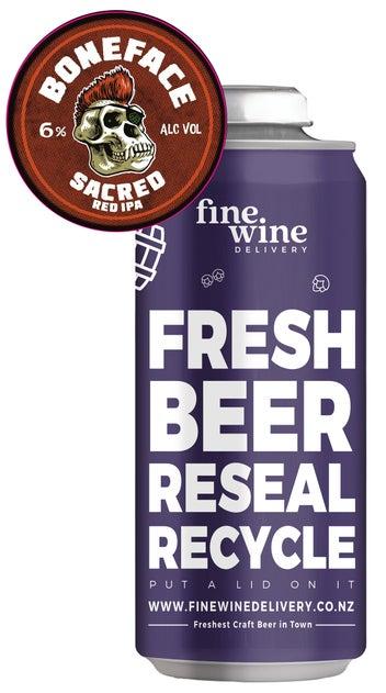 Boneface Sacred Red IPA tap beer