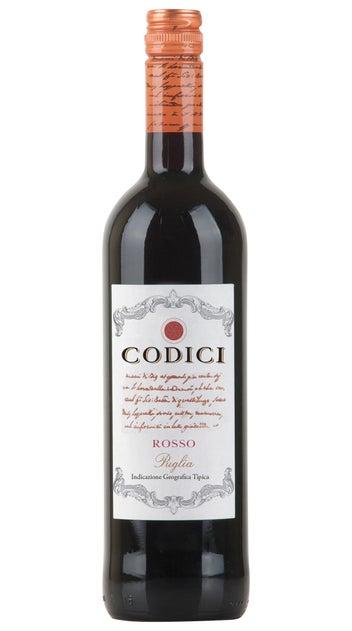 2018 Codici Puglia Rosso