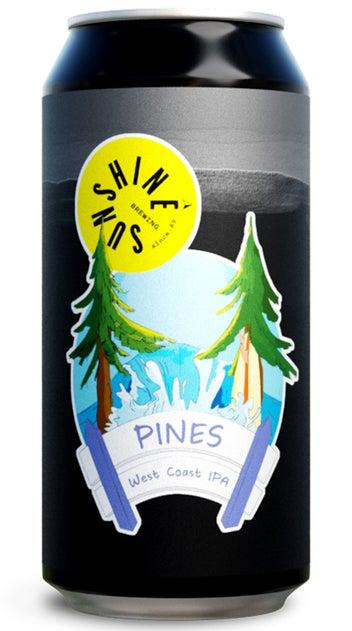 Sunshine Pines West Coast IPA 440ml can