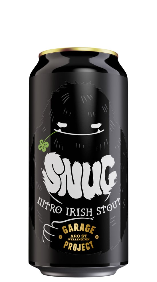 Garage Project Snug Nitro Irish Stout 440ml can