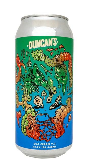 Duncan's Oatcream IPA V3 440ml can