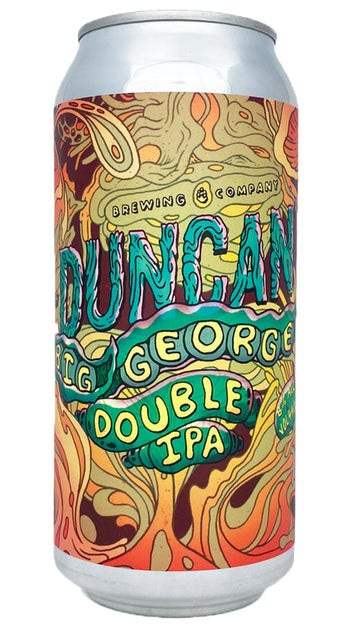 Duncans Big George Double IPA 440ml can