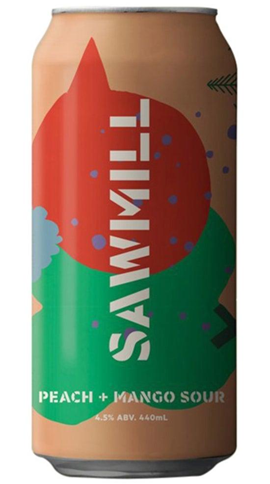 Sawmill Brewery Peach and Mango Sour 440ml can