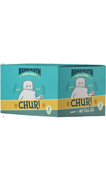 Behemoth Chur Pale Ale 6 pack 330ml cans