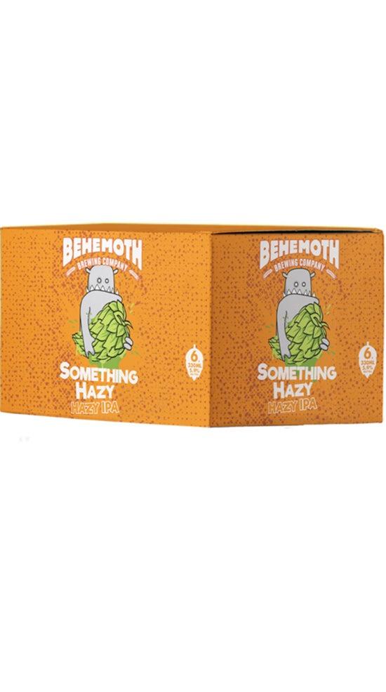 Behemoth Something Hazy IPA 330ml 6 pack cans