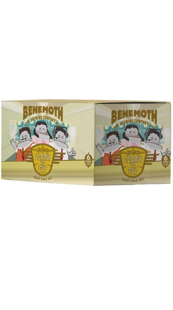 Behemoth Learn to Fly Hazy Pale Ale 6 pack 330ml cans
